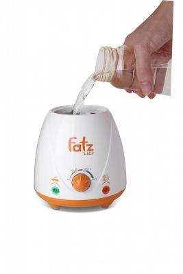 Máy hâm sữa Fatzbaby FB3008SL dùng cho xe ô tô có thể hâm khô hoặc cho nước