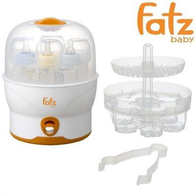 Cấu tạo Máy tiệt trùng Fatzbaby FB4019SL bình sữa siêu tốc 6 bình