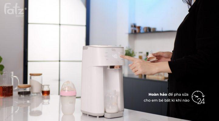 Giải pháp pha sữa hoàn hảo cho em bé
